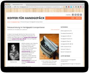 Koffer für Handegepäck