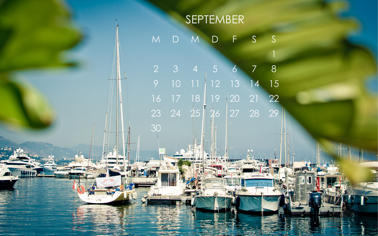 Desktop Kalender September 2013
