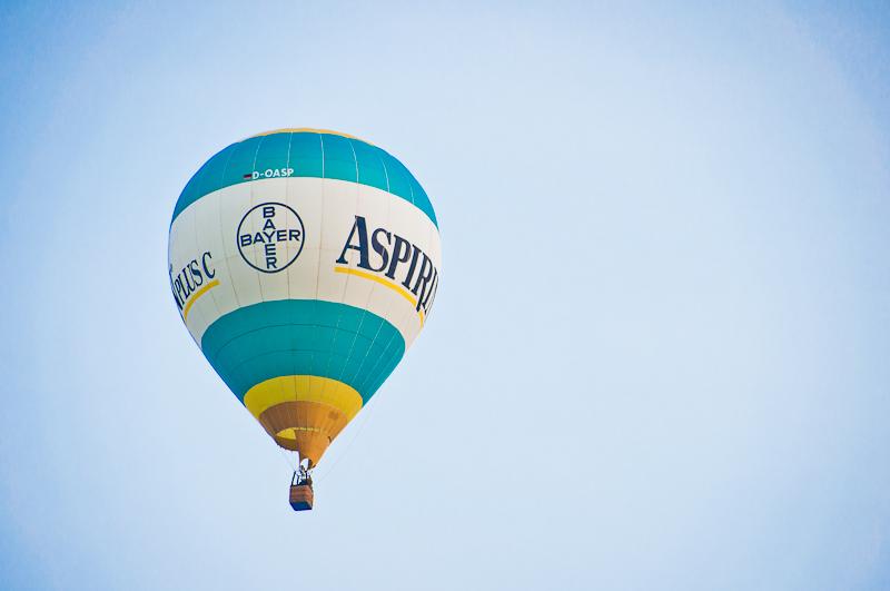 Heißluftballon D-OASP