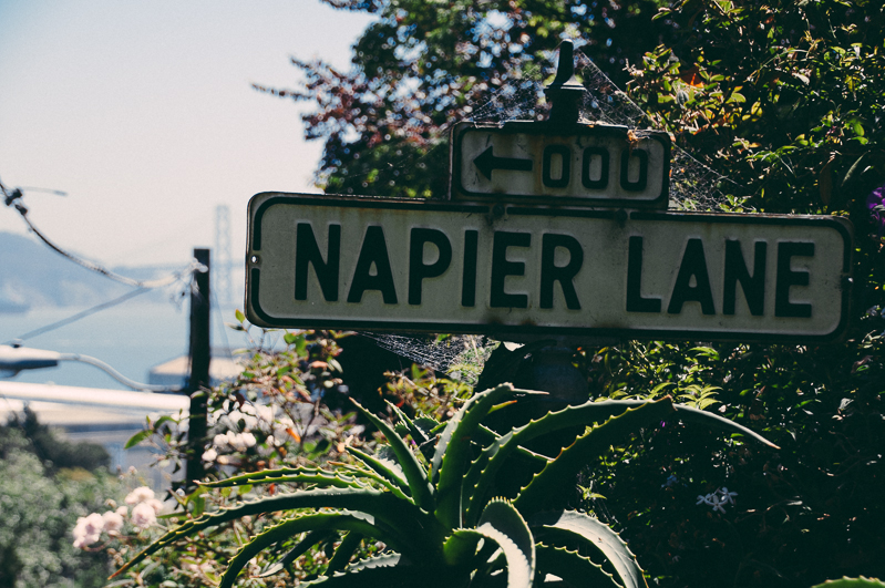 Napier Lane, San Francisco