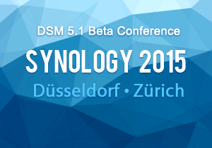 Synology DSM  5.1 Beta Conference