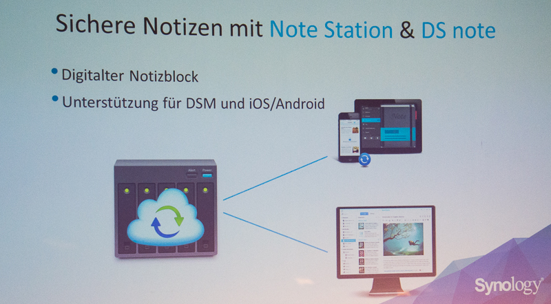 Synology Notes Station - DSM 5.1 beta